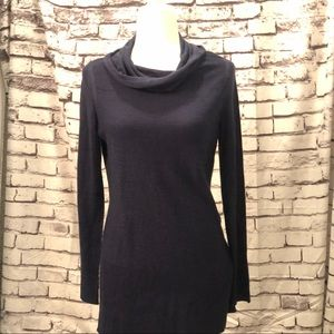 Navy tunic sweater size small